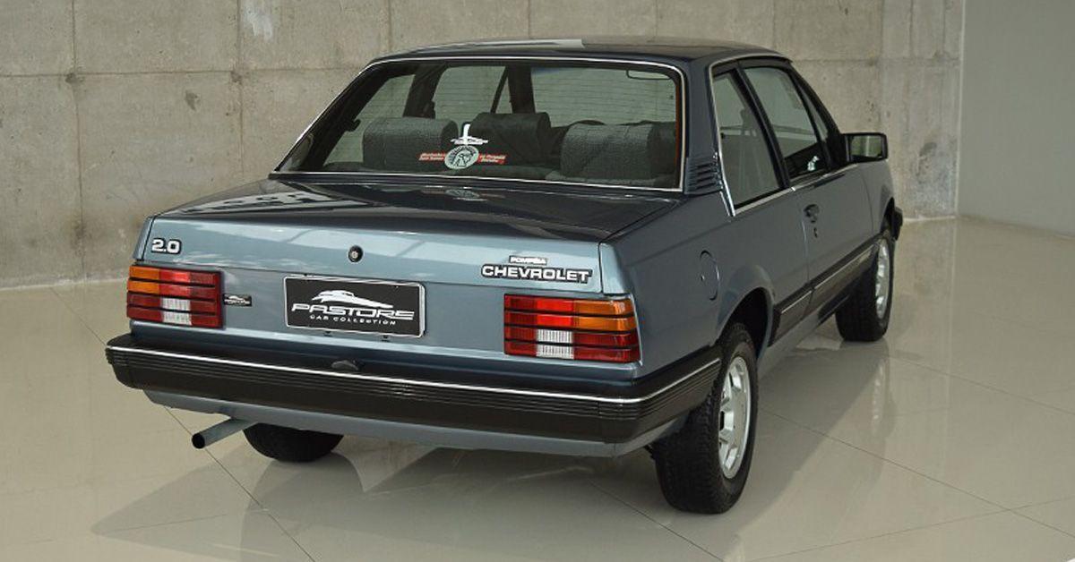 Chevrolet Monza Sl E 2 0 1987 Primeiro Ano Do Motor De 110 Cv