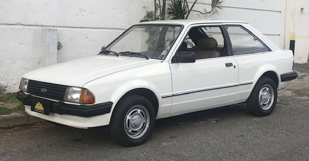 Escort GL 1986 Motor Tudo (0)