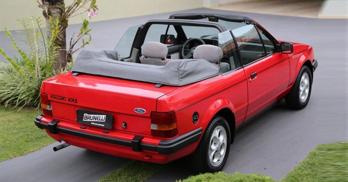 Escort XR3 conversível 1985 Motor Tudo (0)