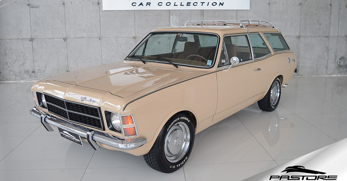 Caravan de luxo 1979 Motor Tudo