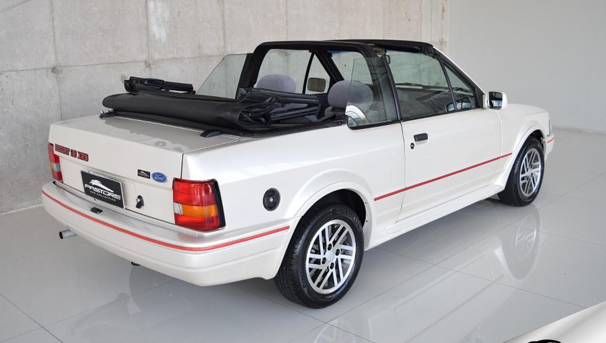 Escort XR3 Conversível 1.8 1991 Motor Tudo
