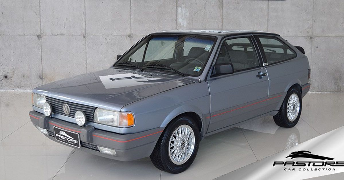 Gol Quadrado - Gol GTS 1.8 1994 Motor Tudo (0)