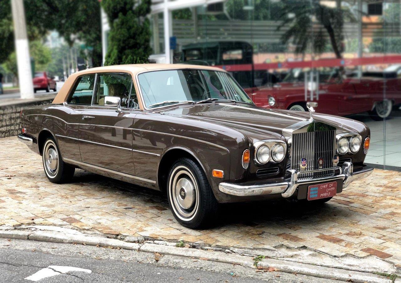 ROLLS ROYCE CORNICHE COUPÉ 1973 Motor Tudo (5)