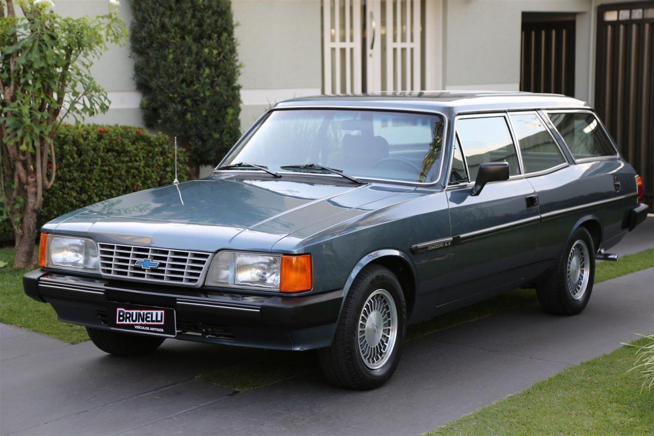 Caravan Comodoro SLE 4.1 1988 Motor Tudo (34)