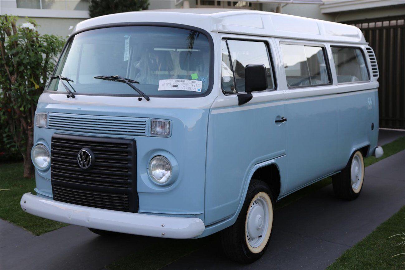 VW Kombi Last Edition série especial do último lote de produção
