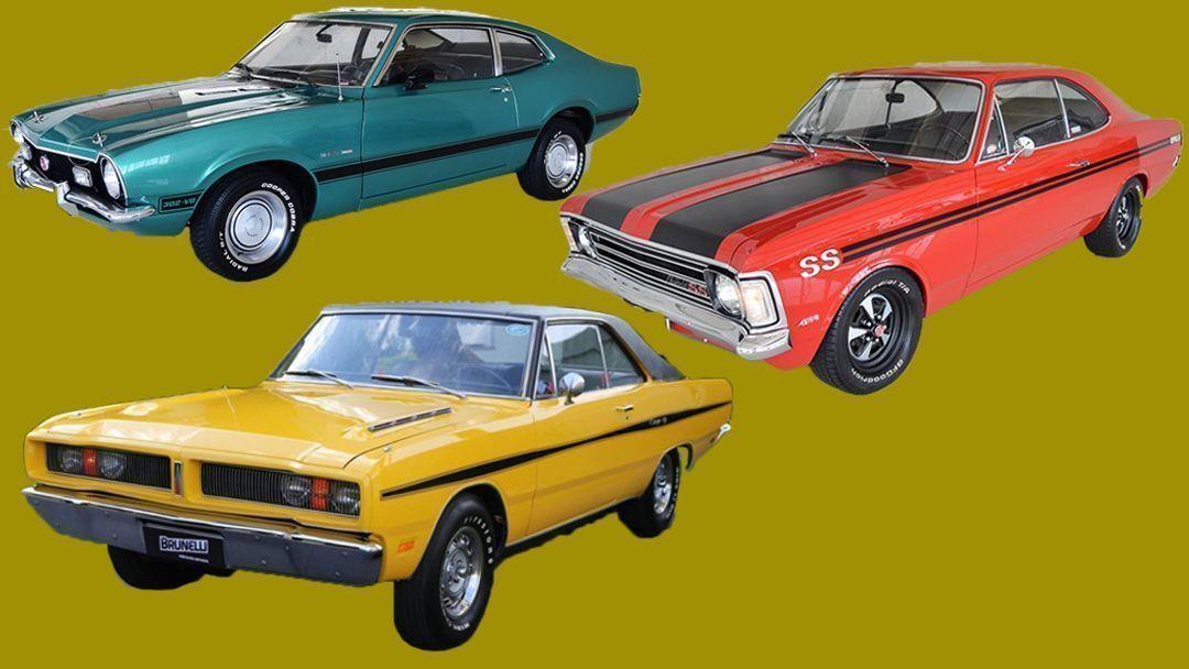 muscle car carros esportivos antigos Motor Tudo