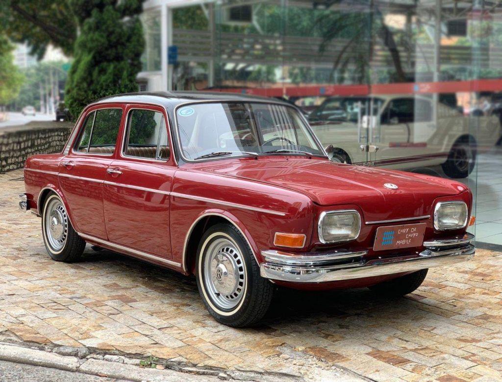 Vw Ze Do Caixao 1600 L 1969 Com Acabamento Interno Esporte Fino Carros Antigos