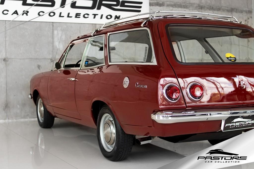 Caravan 1975 lançamento da SW da Chevrolet