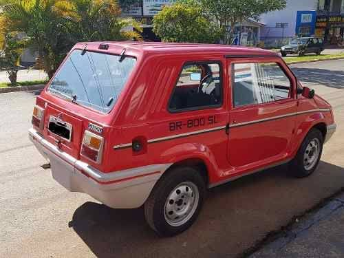 Gurgel BR 800 mais uma tentativa de criar uma montadora 100 % brasileira