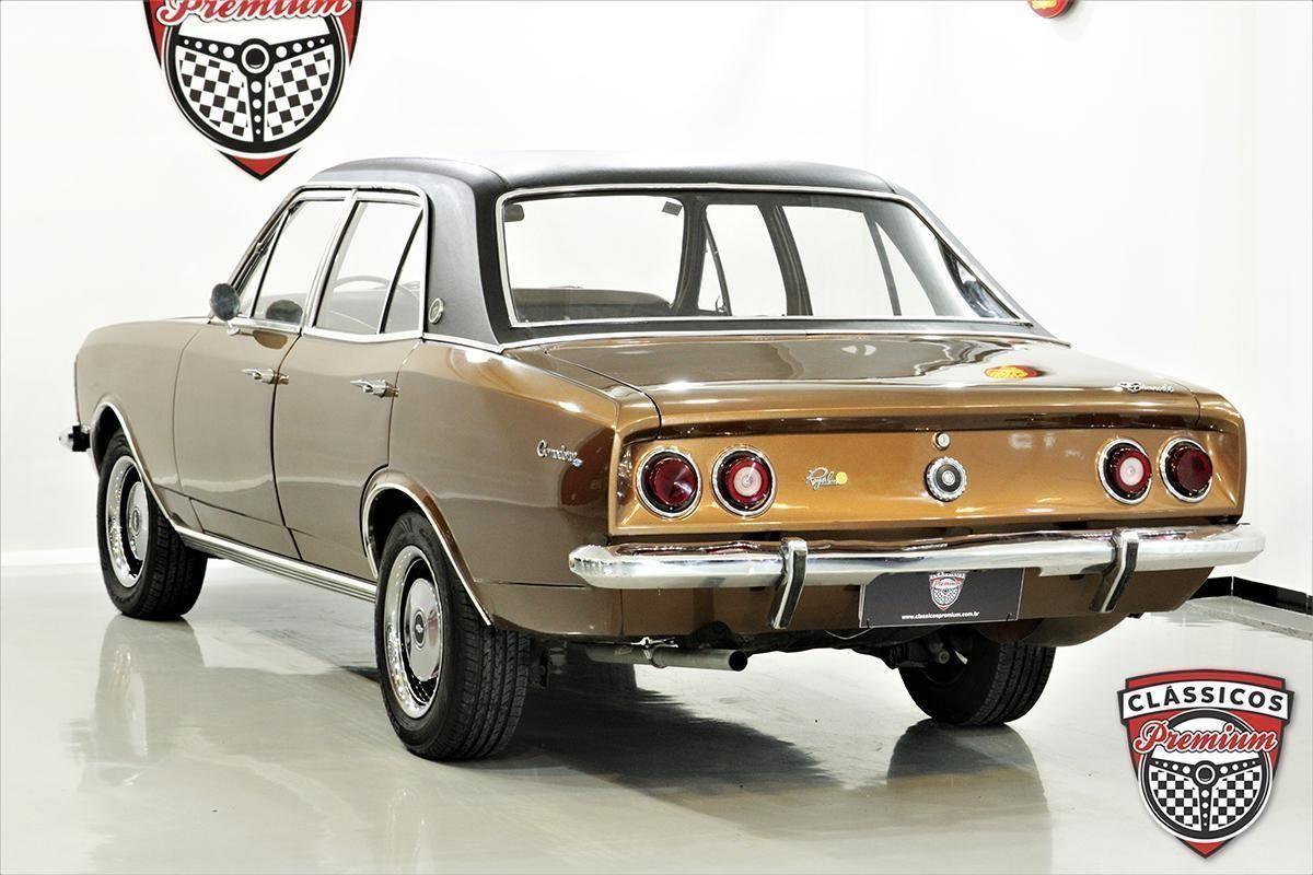 Opala Comodoro 4100 1979 O top de linha da década de 1970