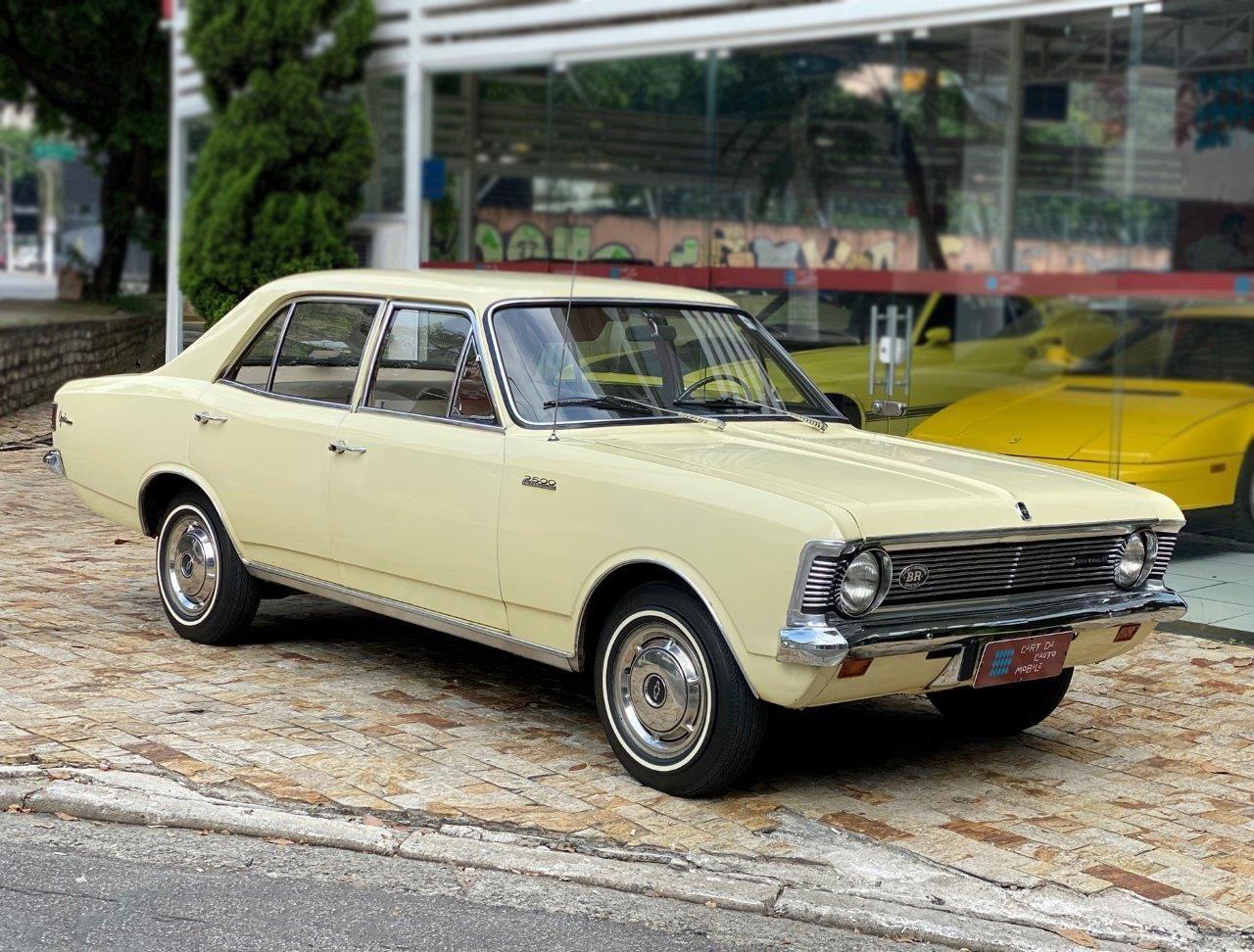 Opala 69 uma das primeiras unidades produzidas em solo brasileiro