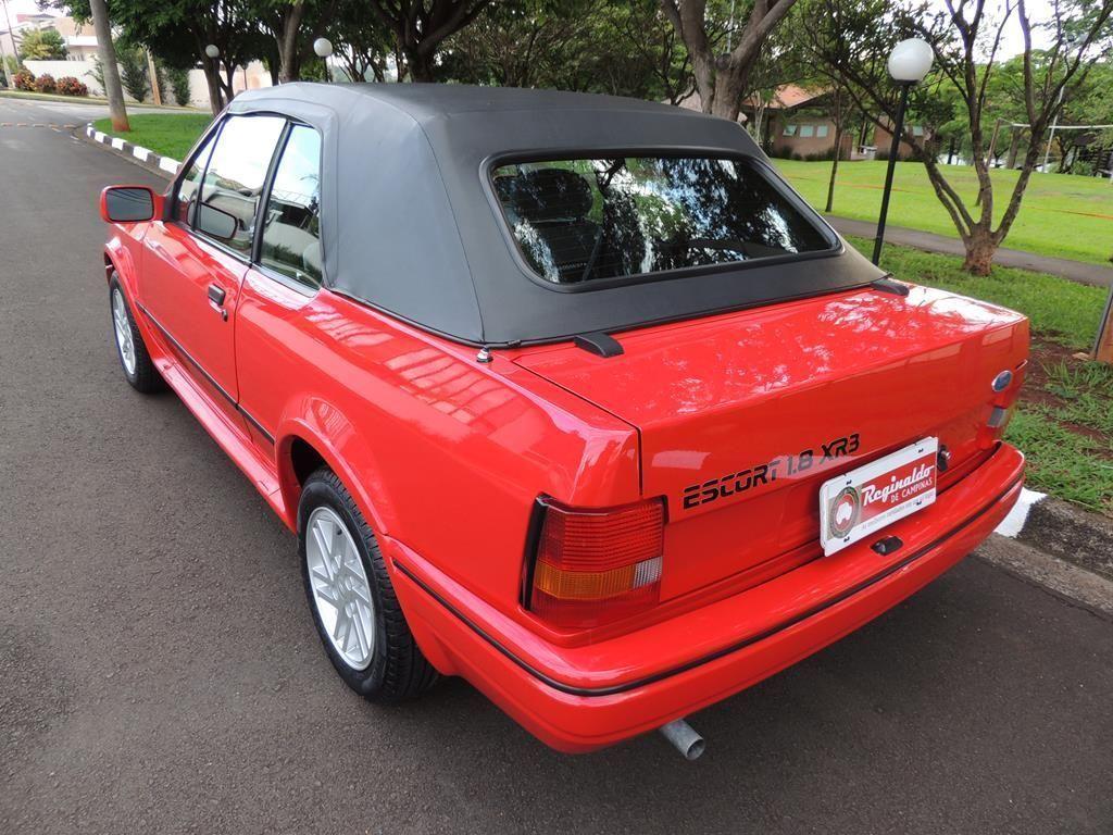 Escort XR3 Conversível 1.8 1990 o carro mais caro do Brasil