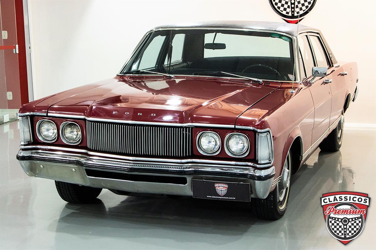 Galaxie LTD 76 de cara nova pura ostentação na década de 1970