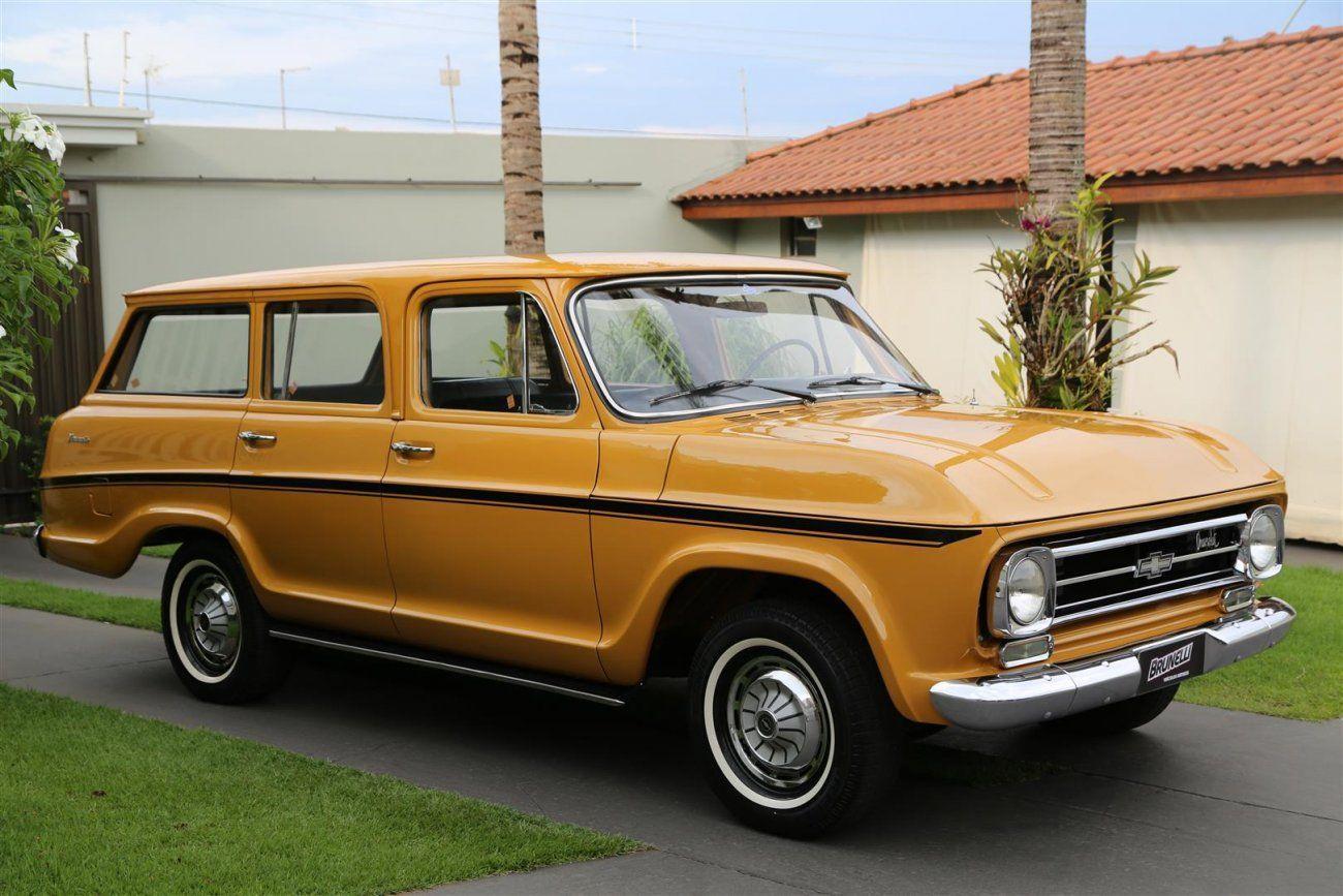 Veraneio Luxo 74 O Suv Da Decada De 1970 Carros Antigos