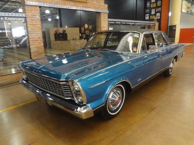 Ford Galaxie LTD 1970 último ano como versão top de linha