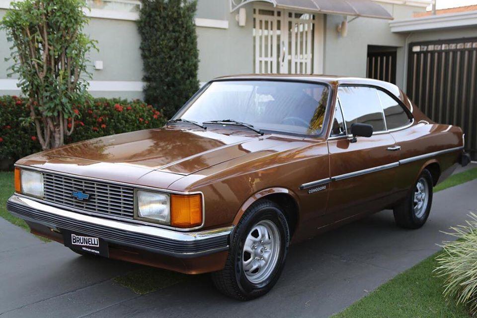 Opala Comodoro Coupé 2.5 1981 prazer em dirigir