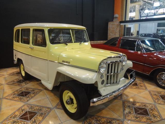 Rural Willys 1958  uma das primeiras unidades fabricadas em solo brasileiro