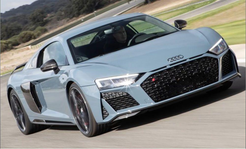 Audi R8 Performance 5.2 V10 2021 331 km/h de velocidade final real