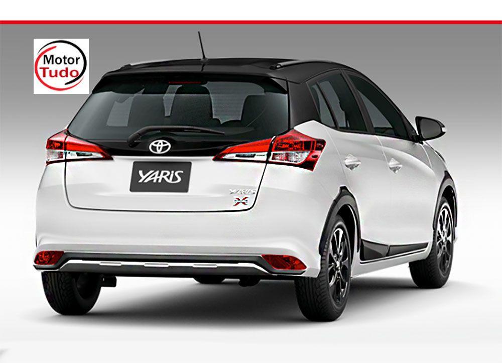 Toyota Yaris XLS Connect 1.5 AT 2020 um compacto com linhas modernas