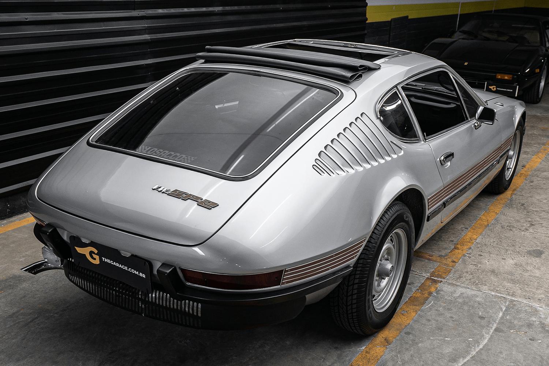 Volkswagen SP2 1972 primeiro ano de produção com incríveis acessórios Dacon