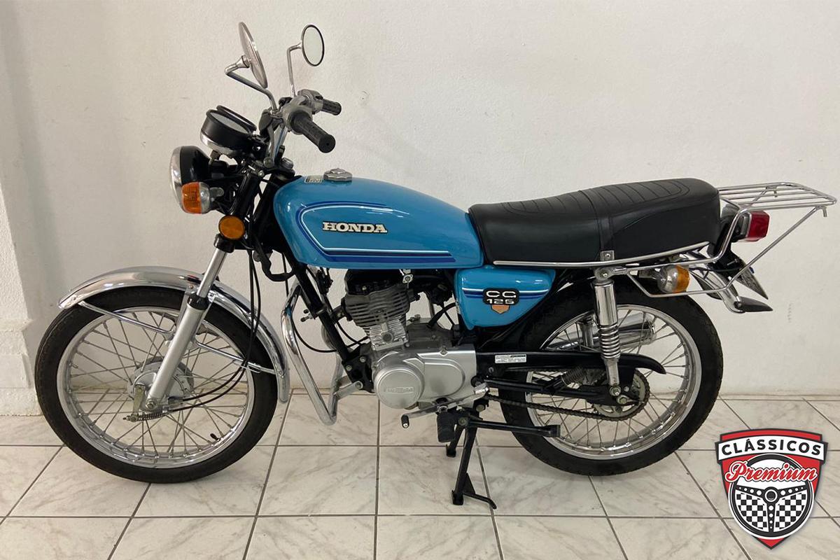 Honda CG 125 1982 Motos Antigas