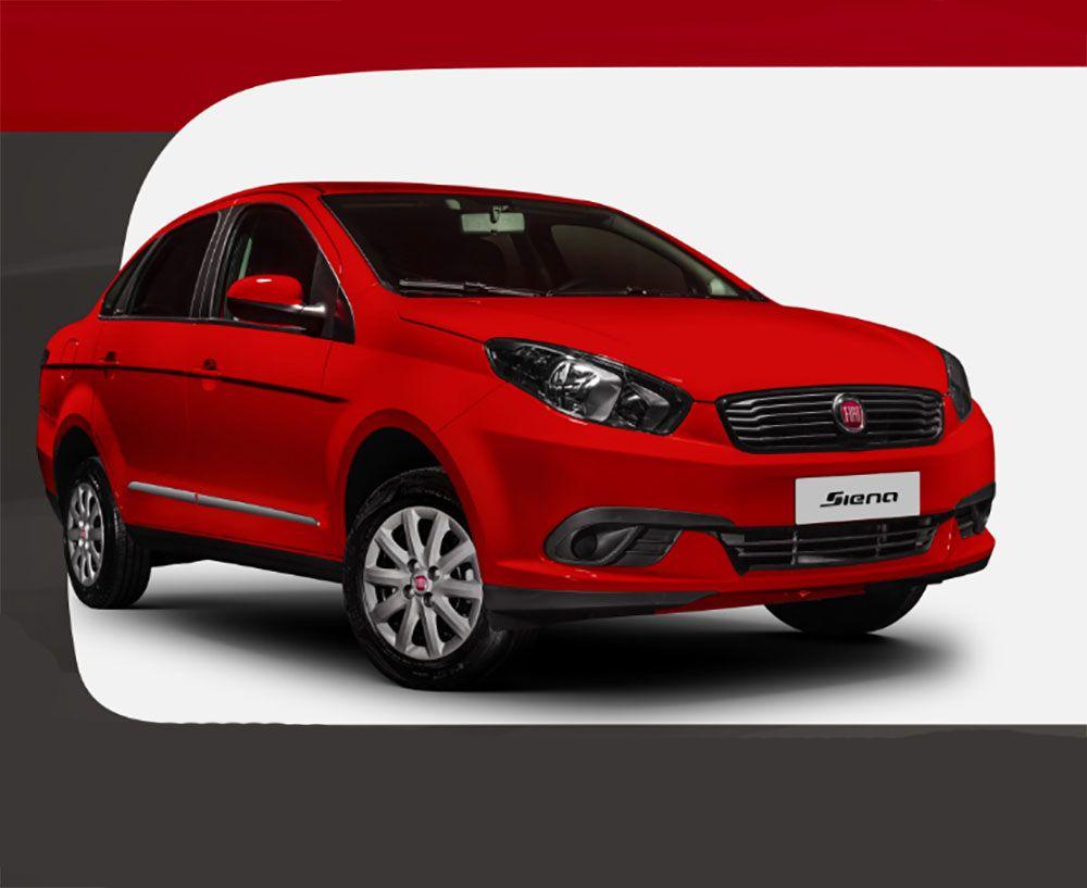 Fiat Siena Attractive 1.4 2021 vem com Kit GNV de fábrica