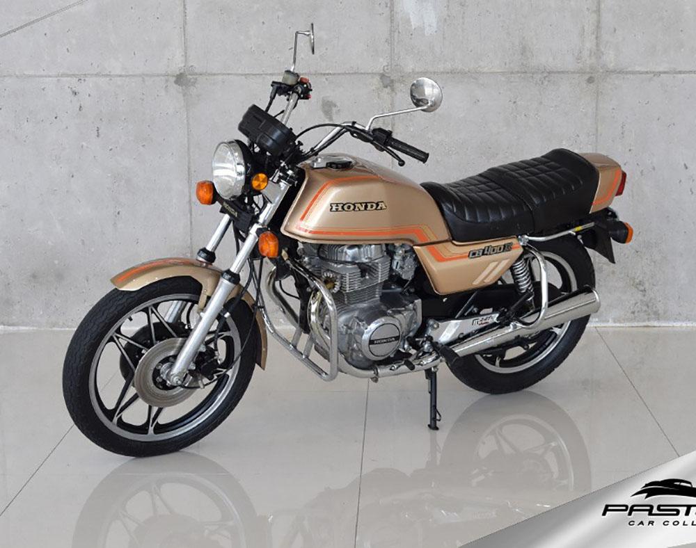 Honda CB 400 II 1983 pura ostentação no início da década